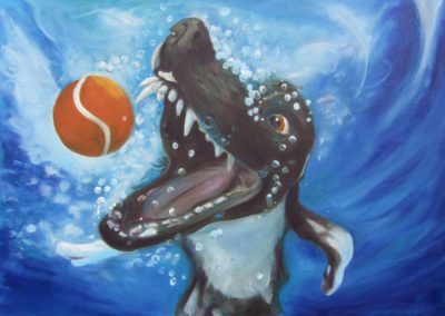 Unterwasser-Dog